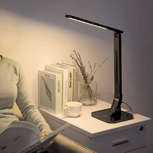 Wireless Charger LED Desk Lamp