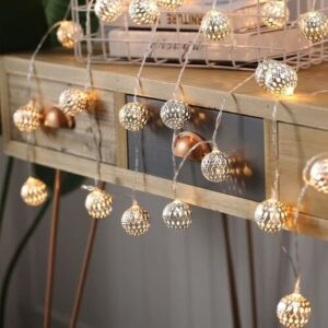LED Globe String Lights