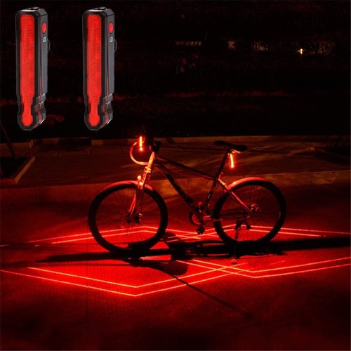 Laser Tail Bike Light