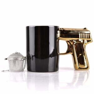 Gun Design Coffee Mug