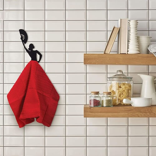 Kitchen Towel Hanger | Spanish Dancer Towel Holder | The Geeky Bone