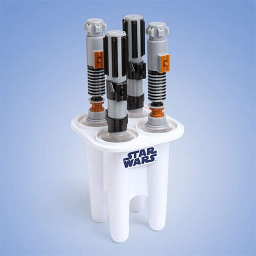 lightsaber ice lolly moulds