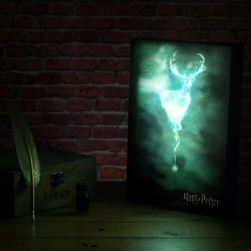 harry potter patronus art