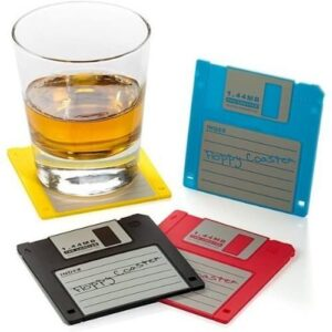 Retro Floppy Disk Coaster