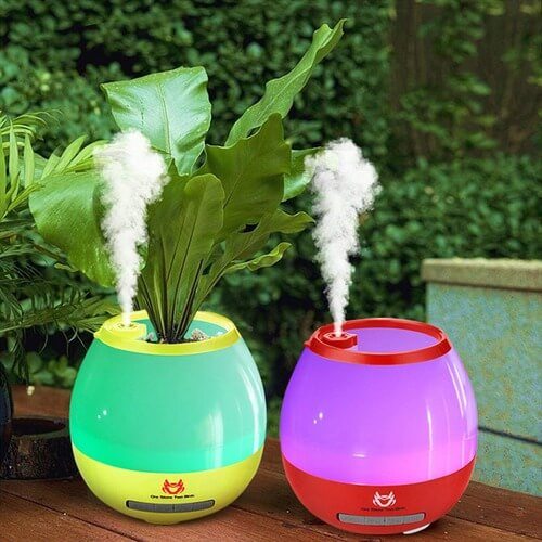 Humidifier with Bluetooth Speaker
