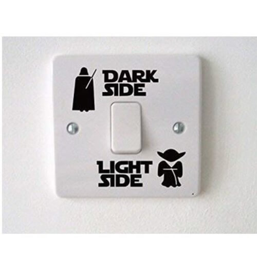 Star Wars Light Switch Sticker