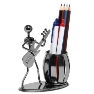 Guitar Rocker Pen Holder