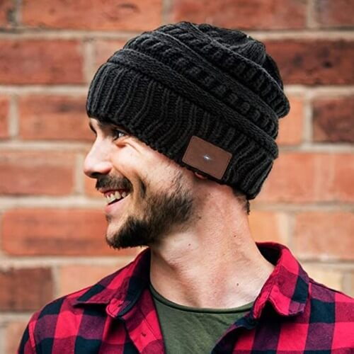 Beanie Hat With Headphones | Beanie Hat Headphones | The Geeky Bone