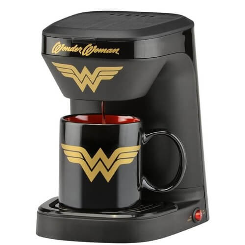 Wonder Woman Coffee Maker