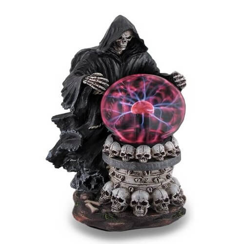 Grim Reaper Holding Crystal Ball