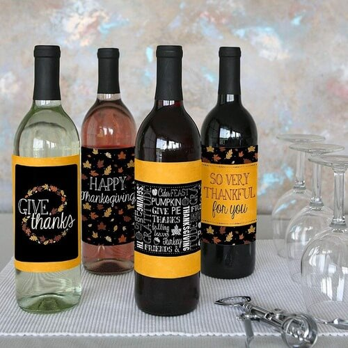 Best Thanksgiving Wine Labels