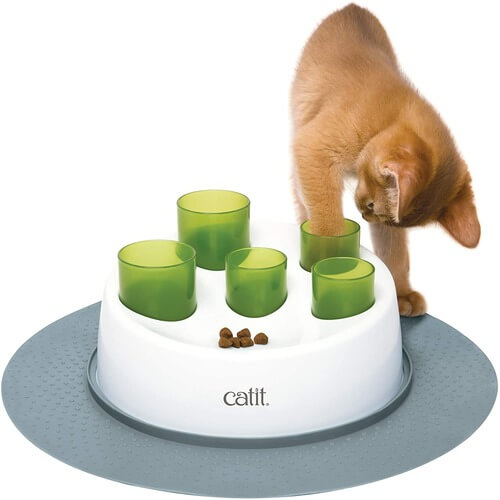 cat food hunting toys