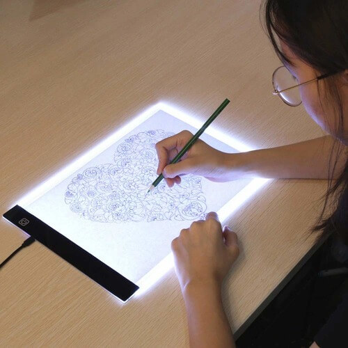 LED Sketch Pad