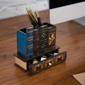 Books Design Pencil Holder