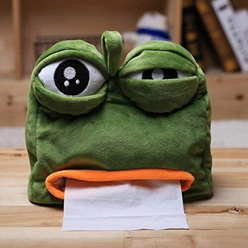 Sad Frog Tissue Dispenser