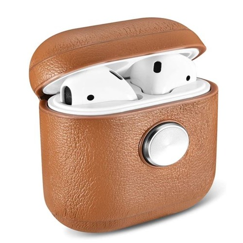AirPods Fidget Spinner Leather Case