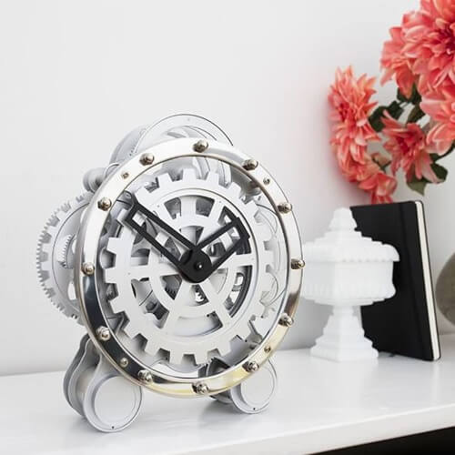Gear Wall Clock Kikkerland