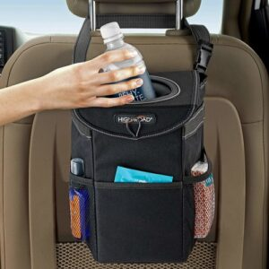 Car Trash Can With Lid