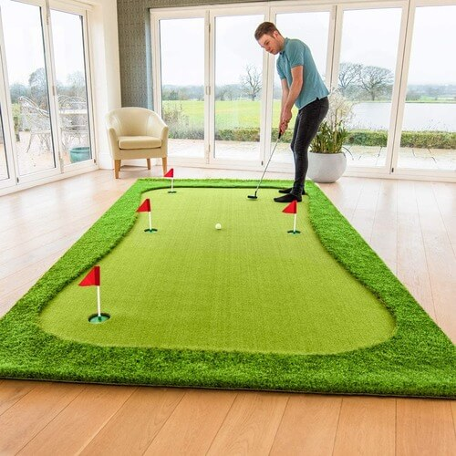 Indoor Golf Mat | Golf Mats for sale | The Geeky Bone