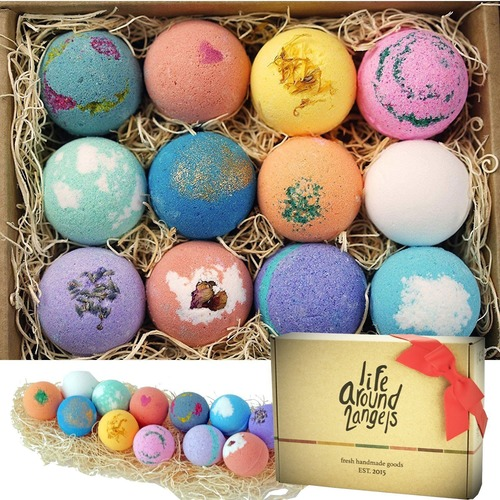 Spa Bath Bombs Gift Set
