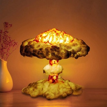 Nuclear Explosion Lamp